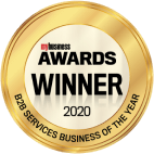 We won the my business awards business to business services business of the year 2020
