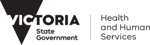 Health and human services Victoria logo