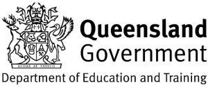 QLD department of education and training logo
